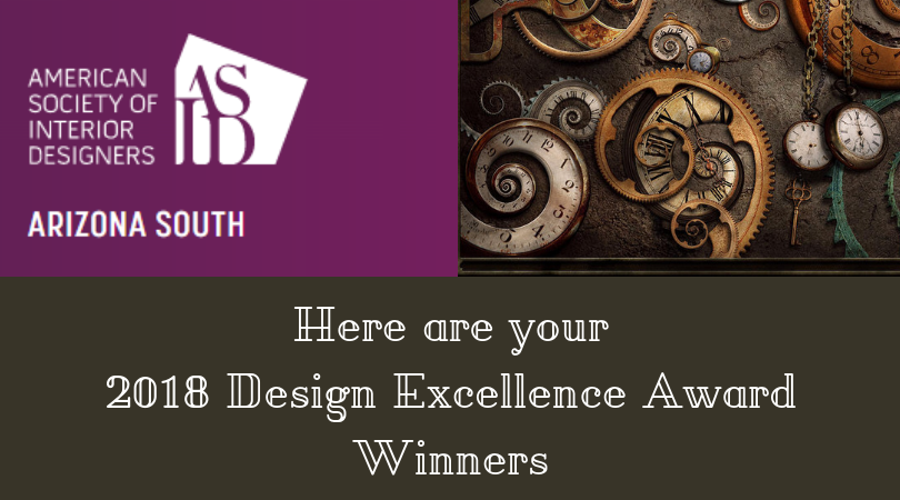 2018 Design Excellence Award Winners